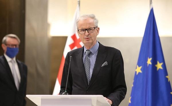 იმისათვის, რომ ევროკავშირმა საქართველოს ნამდვილი მეგობრობა გაუწიოს, შეთანხმების შესასრულებლად გადადგმული ნაბიჯები გადამწყვეტი იქნება - დანიელსონი