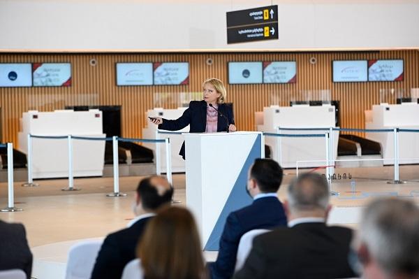ვულოცავ საქართველოს, იმერეთის რეგიონს, ქუთაისს საერთაშორისო სტანდარტების შესაბამის განახლებულ აეროპორტს - ნათია თურნავა