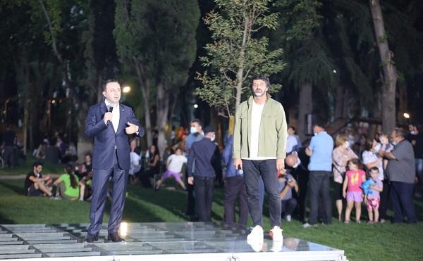 საქართველოს პრემიერ-მინისტრმა და დედაქალაქის მერმა დედაენის ბაღი საზეიმოდ გახსნეს