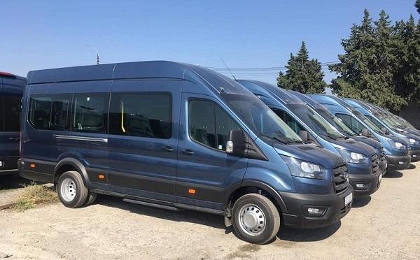 1000 თანამედროვე სამარშუტო მიკროავტობუსი ივლის თბილისში - ირაკლი ზარქუა