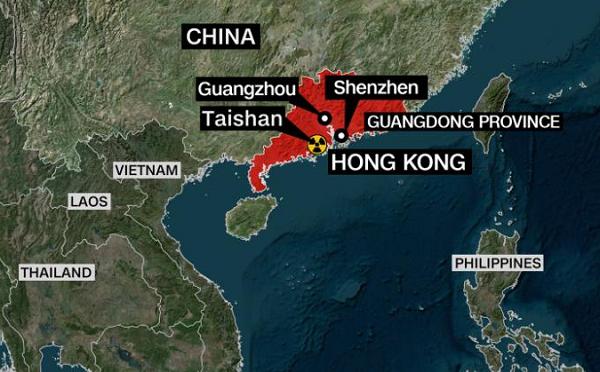 აშშ-მა მიიღო ინფორმაცია ჩინეთის ატომურ ელექტროსადგურზე გაჟონვის შესახებ