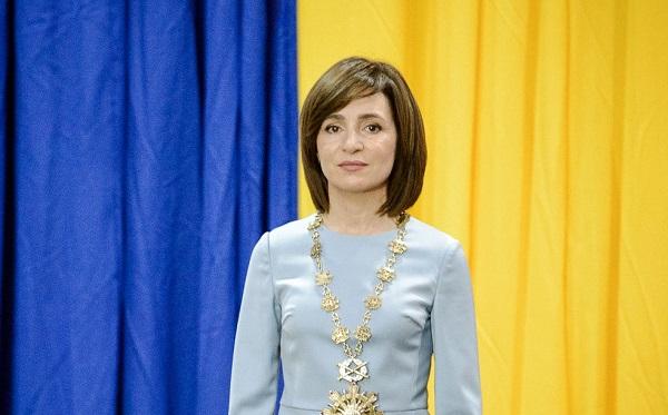 საქართველოს მოლდოვის პრეზიდენტი მაია სანდუ ეწვევა