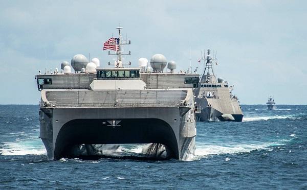შავ ზღვაში აშშ-ის სადესანტო ხომალდი შედის