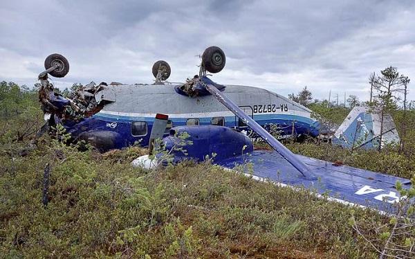 რუსეთში გაუჩინარებული თვითმფრინავი იპოვეს
