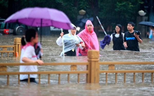 ჩინეთში წყალდიდობის შედეგად მსხვერპლთა რადენობა 58-მდე გაიზარდა
