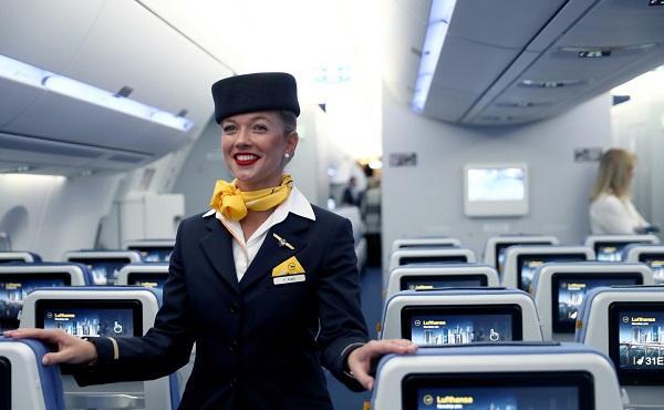 Lufthansa მისალმებისას