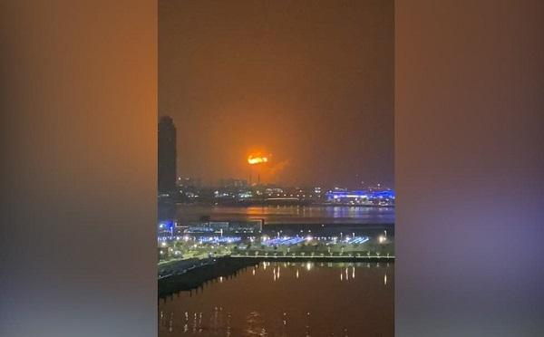 დუბაიში მძლავრი აფეთქება მოხდა