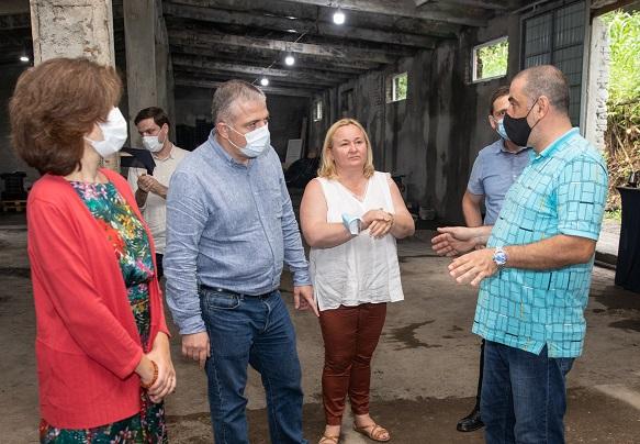 სოფლის განვითარების პროგრამის მხარდაჭერით  ქედაში ახალი საწარმო ამოქმედდა