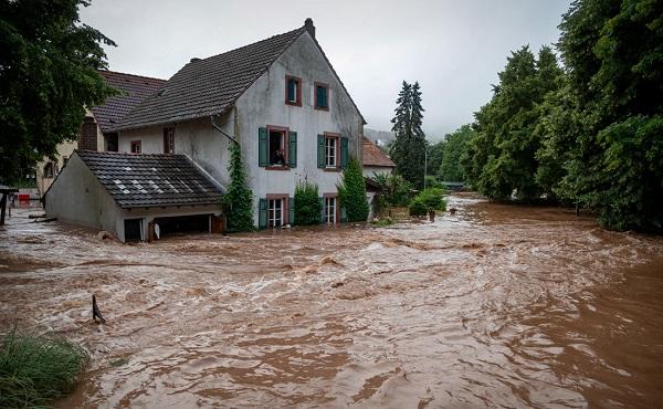 გერმანიაში წყალდიდობის შედეგად დაღუპულთა რიცხვი 81-მდე გაიზარდა