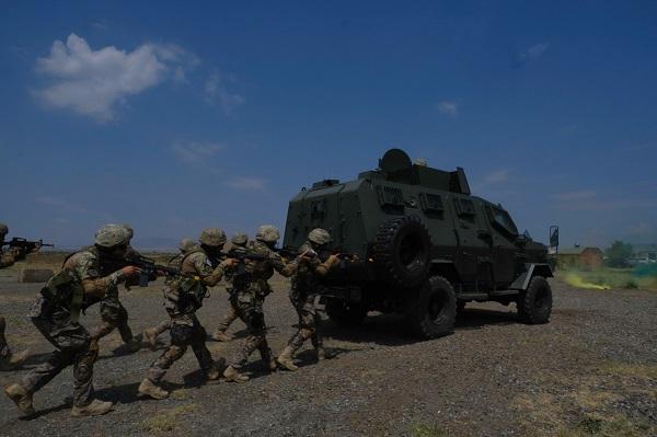 სამხედრო პოლიციის დეპარტამენტის ოცეულმა SNGP-ის ფარგლებში საველე-სიტუაციური წვრთნები ჩაატარა
