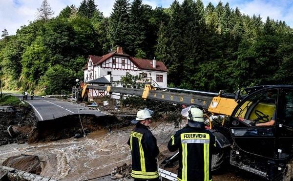 წყალდიდობა გერმანიასა და ბელგიაში - დაღუპულია 40-ზე მეტი ადამიანი   ფოტოები