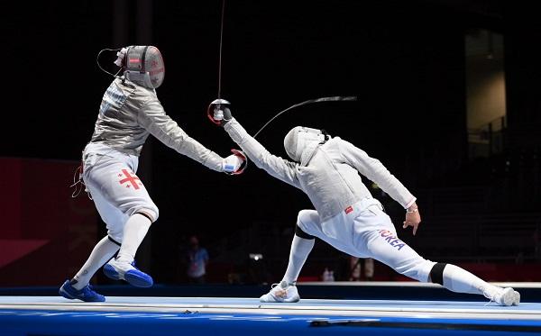 სანდრო ბაზაძე ოლიმპიური თამაშების ბრინჯაოს მედლისთვის განაგრძობს ბრძოლას