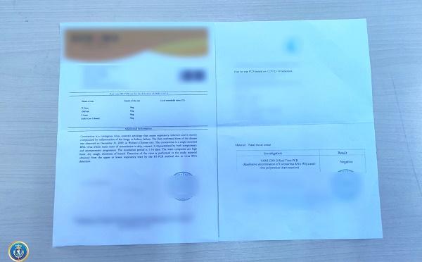 იმერეთის რეგიონში ყალბი PCR ტესტის შედეგების დოკუმენტის დამზადება-გასაღების ფაქტზე  ერთი პირი დააკავეს