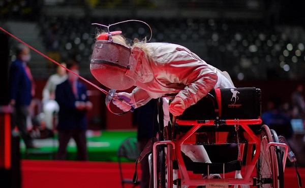 ნინო თიბილაშვილმა ტოკიოს პარალიმპიურ თამაშებზე ვერცხლის მედალი მოიპოვა