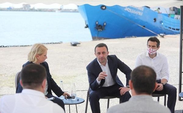ჩვენი მიზანია, ქართული თევზჭერა სრულად ქართული ფლოტით ხორციელდებოდეს - ირაკლი ღარიბაშვილი