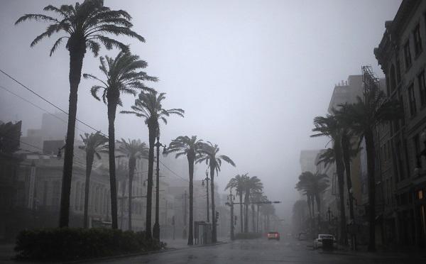 ლუიზიანის შტატში ქარიშხალ