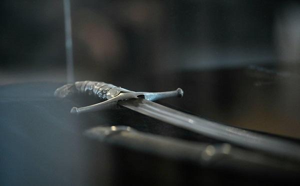 ბიზნესმენმა დავით ხიდაშელმა საქართველოს ჭავჭავაძეების ხმალი გადასცა