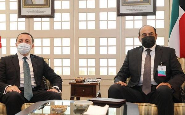 ირაკლი ღარიბაშვილი ქუვეითის პრემიერ-მინისტრს შეხვდა