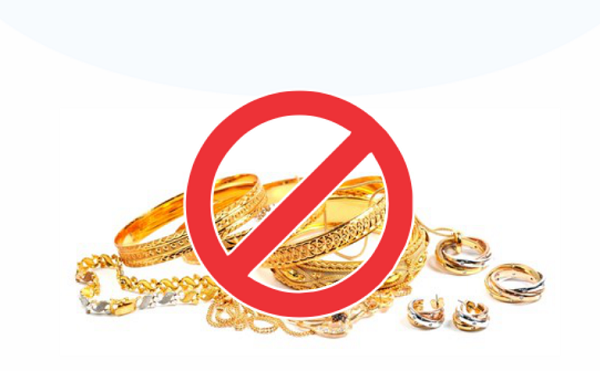 საბაჟო გამშვებ პუნქტებში არადეკლარირებული ოქროს ნაკეთობების ქვეყანაში შემოტანის ფაქტები აღიკვეთა
