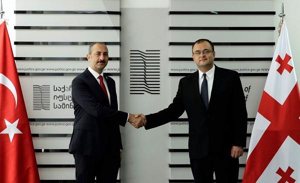 რატი ბრეგაძემ თურქეთის იუსტიციის მინისტრს უმასპინძლა