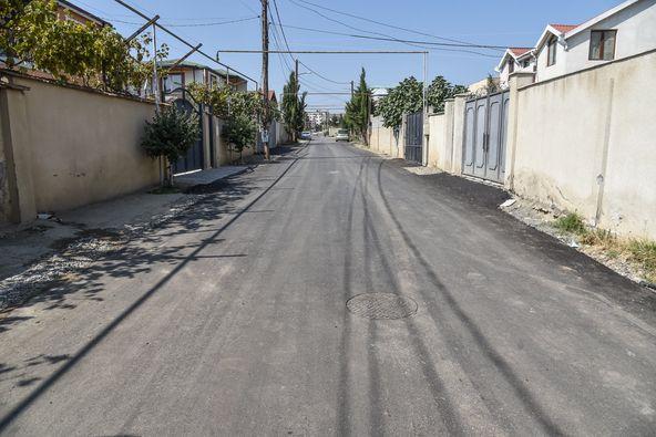 ნაძალადევის რაიონში, დადიან-ანჩაბაძის ქუჩაზე გზის საფარი მოეწყო