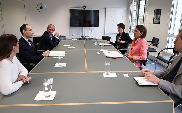 ლევან დავითაშვილი შვეიცარიის კონფედერაციაში ოფიციალურ შეხვედრებს განაგრძობს