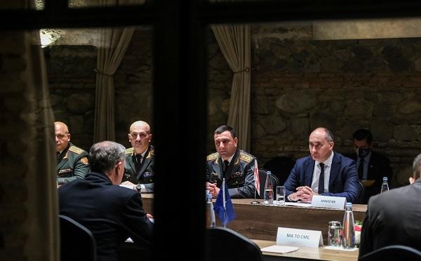 ნატო-ს სამხედრო კომიტეტის თავმჯდომარემ და თავდაცვის მინისტრმა ერთობლივი განცხადებები გააკეთეს