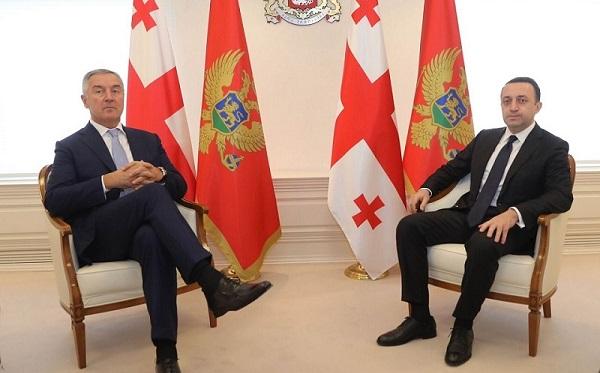 ირაკლი ღარიბაშვილი მონტენეგროს პრეზიდენტ მილო ჯუკანოვიჩს შეხვდა