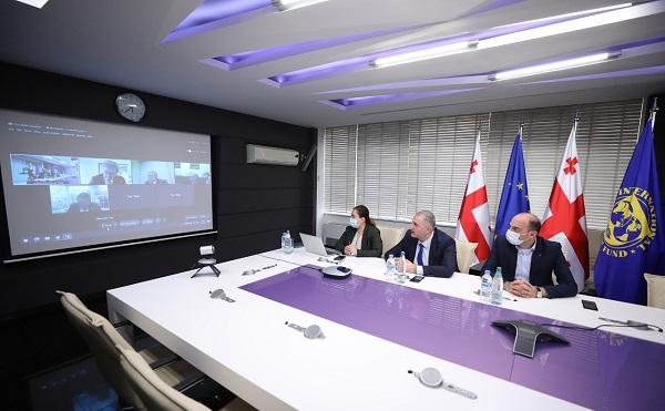 ფინანსთა მინისტრი საერთაშორისო სავალუტო ფონდის აღმასრულებელ დირექტორს შეხვდა