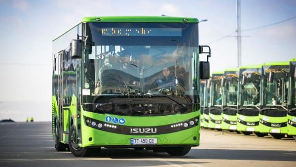 23 ოქტომბრიდან თბილისს დამატებით, 54 ახალი მიკროავტობუსი და