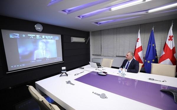 ლაშა ხუციშვილმა მონაწილეობა მიიღო საერთაშორისო სავალუტო ფონდისა და მსოფლიო ბანკის მაღალი დონის შეხვედრაში