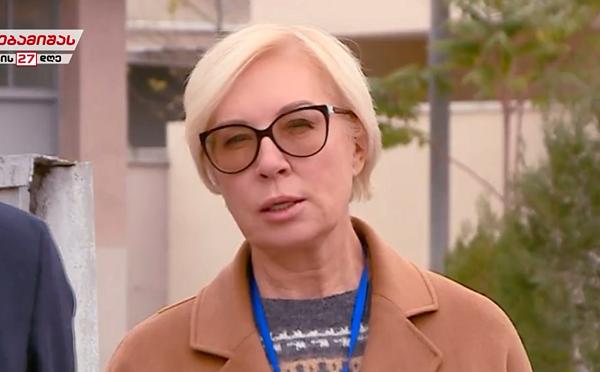 ლუდმილა დენისოვა მიხეილ სააკაშვილის მდგომარეობაზე ინფორმაციას უკრაინის პრეზიდენტს მიაწვდის