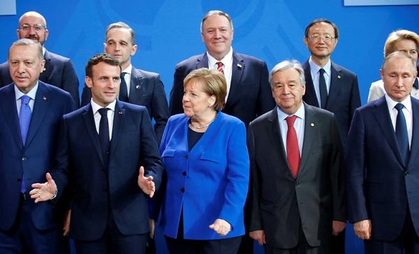 ბერლინში ლიბიის კრიზისთან დაკავშირებით საერთაშორისო კონფერენცია მიმდინარეობს