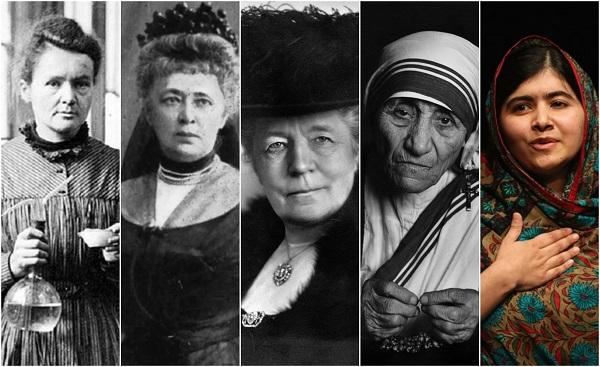 ნობელის პრემიის ლაურეატები - ქალები, რომლებმაც სამყარო შეცვალეს